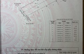 Bán đất mặt tiền Lý Nhơn 3.3ha giá 1.9tr/m2
